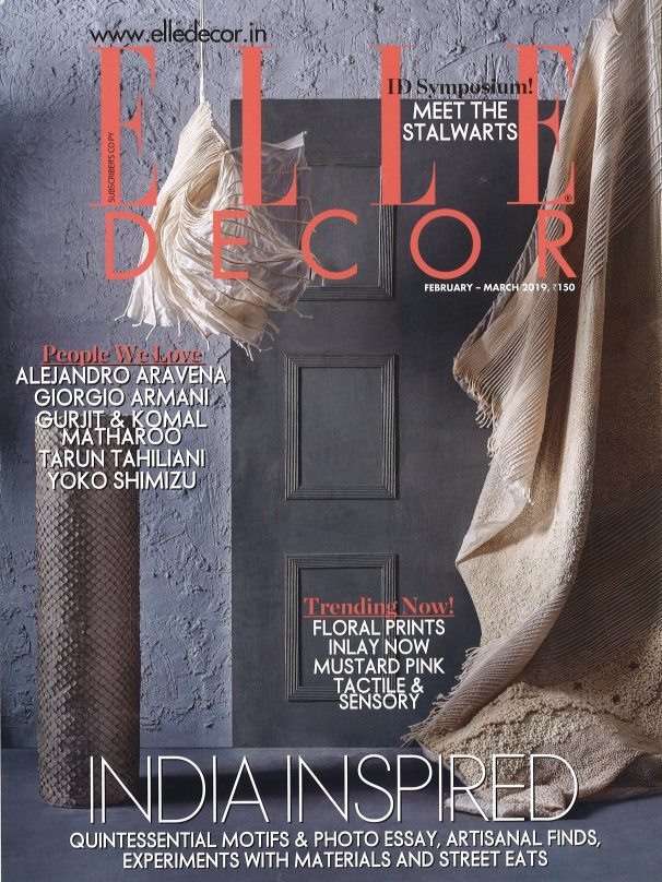elle decor award - cover