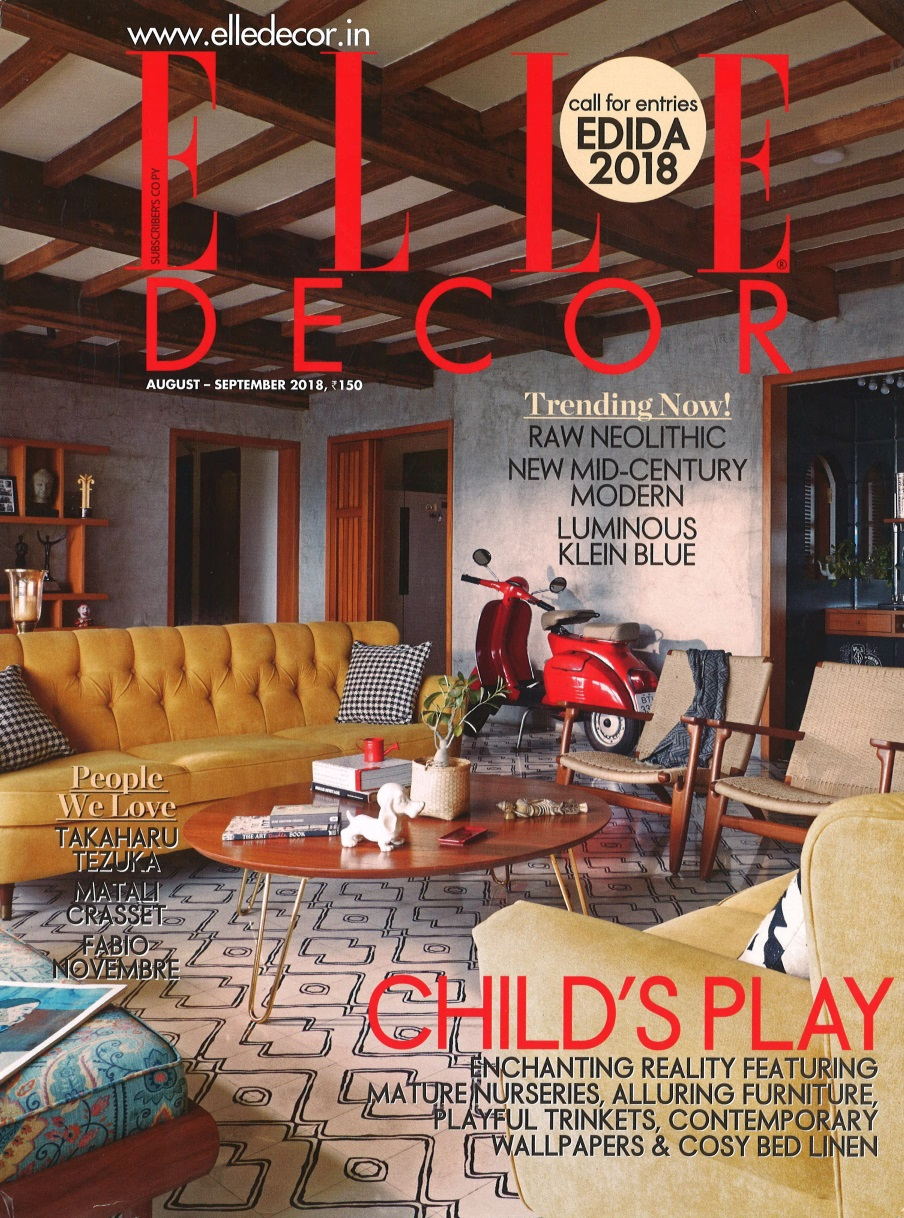 elle decor - cover